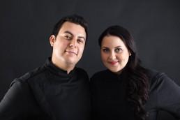 Kira Weckman and Michel Garzon Trujillo
